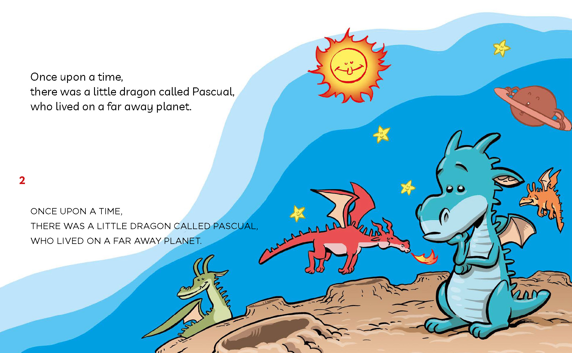 fireless dragon, dragons, children books, learn to read, capital letters, lower case, 5 year olds, kids books,
