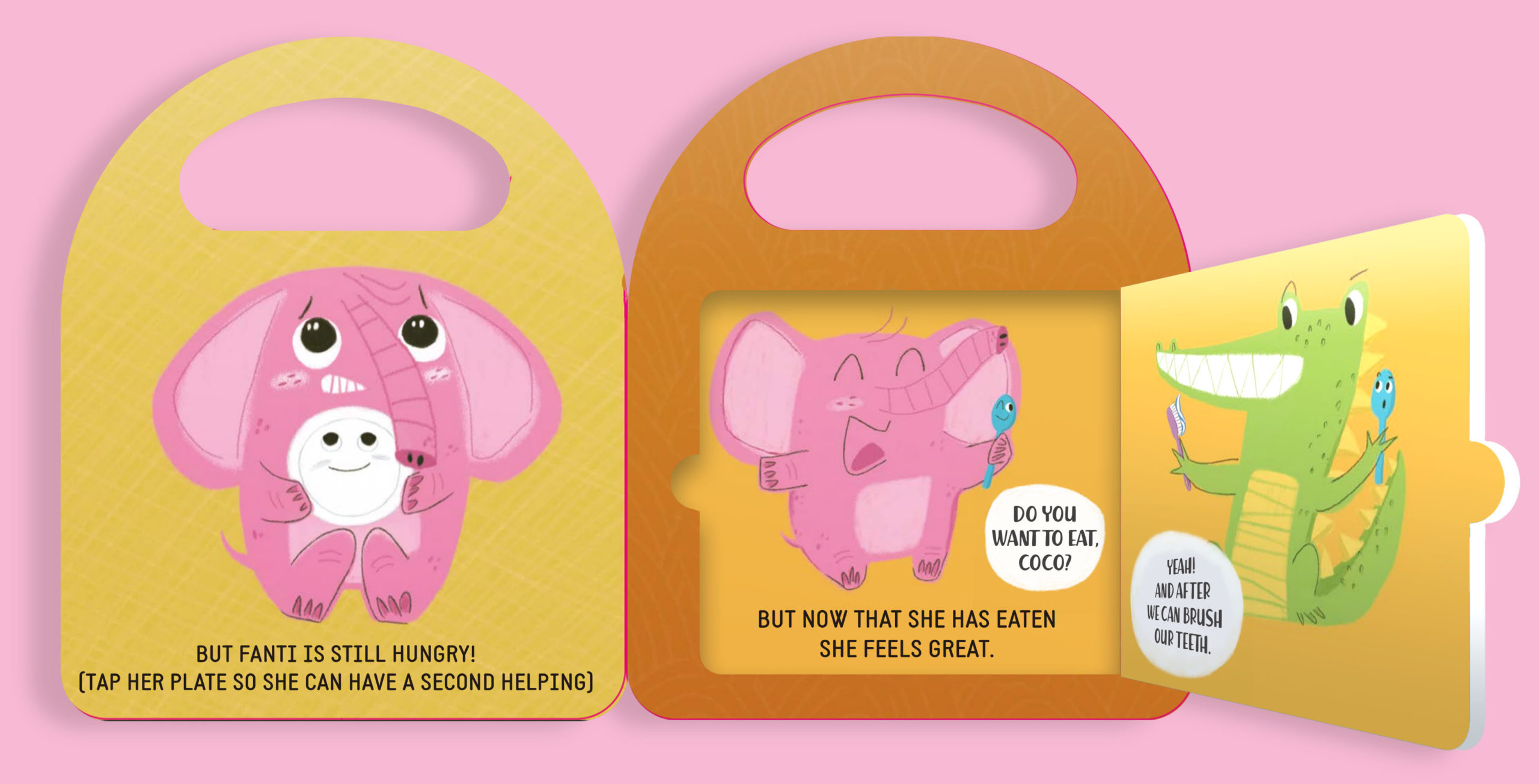 bit by bit, learning playing, babies stories, children books, cardboard, educational,