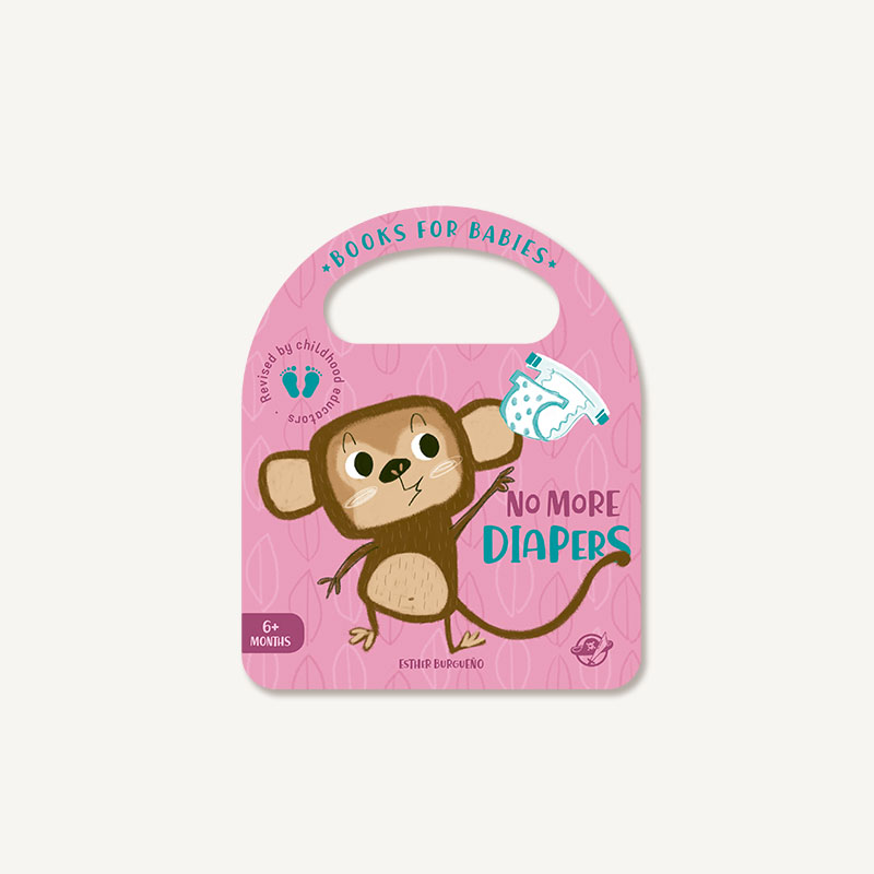 no more diapers, bit by bit, learning playing, babies stories, children books, cardboard, educational, diapers, toilet training,