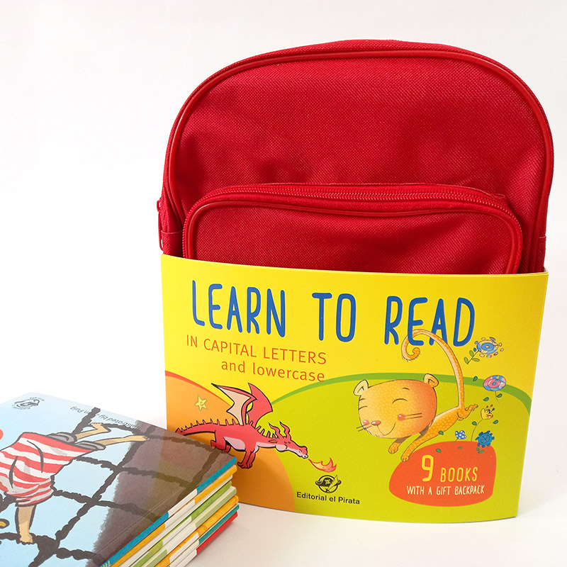 learn to read, collection, backpack, free, gift, uppercase, lowercase, children books, kids books, stories, tales,